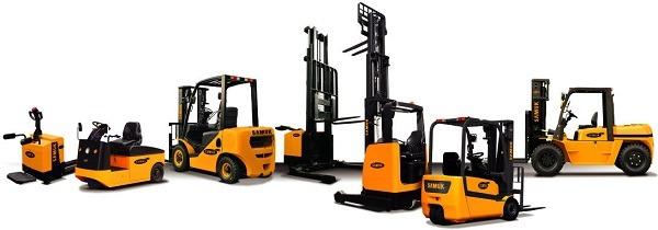 Types of Forklift Trucks | OK Lift Trucks Ltd.